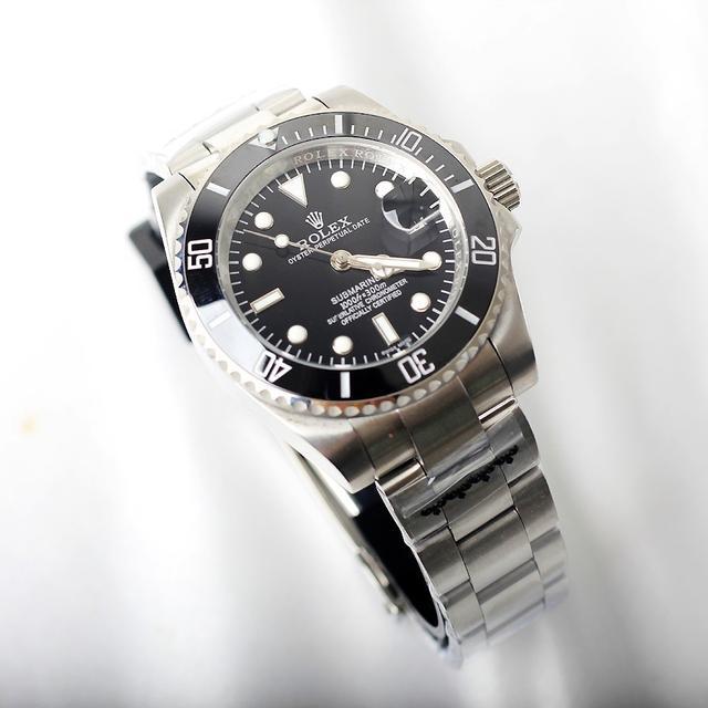 로렉스 서브마리너 블랙 청판 그린 콤비 (까르띠에 오메가 시계) - 상품이미지