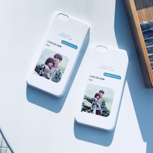 ✔발렌타인데이✔커플사진 제작 및 구찌 스네이크 케이스 아이폰7 노트8 - 상품이미지