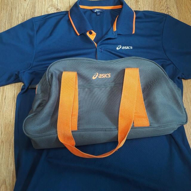 [XL] 아식스 가방 및 트레이닝복 - 상품이미지