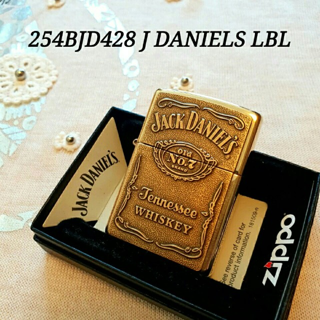 254BJD428 J.DANIELS 정품 새 지포라이터 - 상품이미지