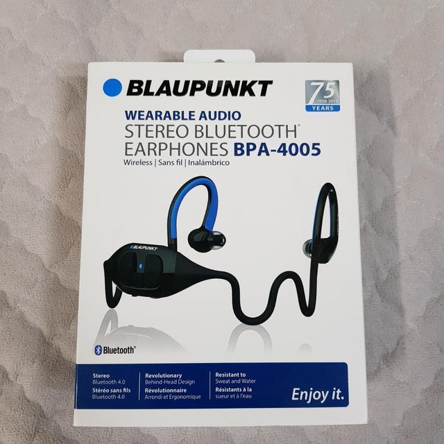 블라우풍트 BPA-4005 / 블루투스 이어폰 / 블루투스 헤드셋 - 상품이미지
