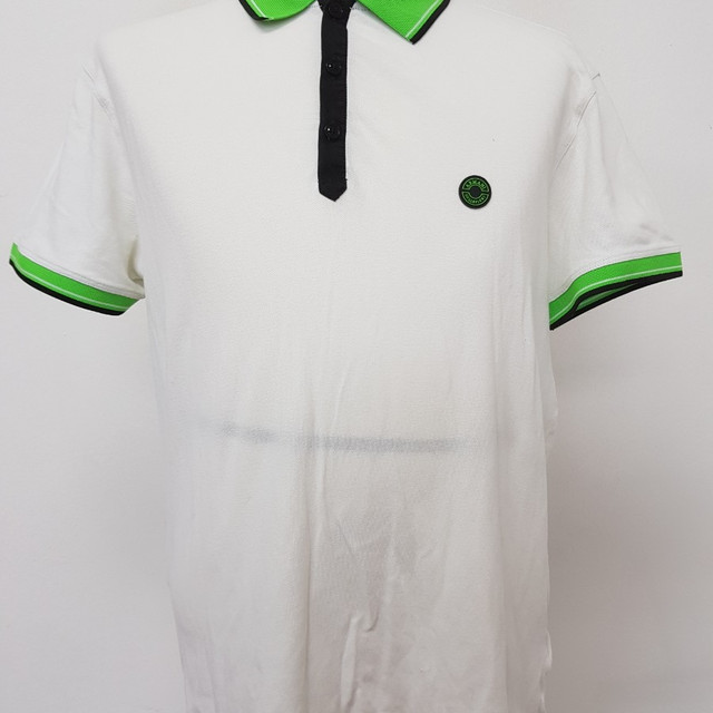 [M] 알마니 M 사이즈 반팔 피케 셔츠 상태 양호 - 상품이미지