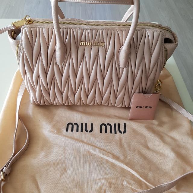 미우미우 마테라쎄 가방 - 상품이미지