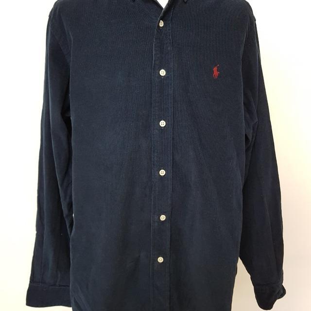 [M] 폴로 랄프로렌 셔츠 남방 골덴 - 상품이미지