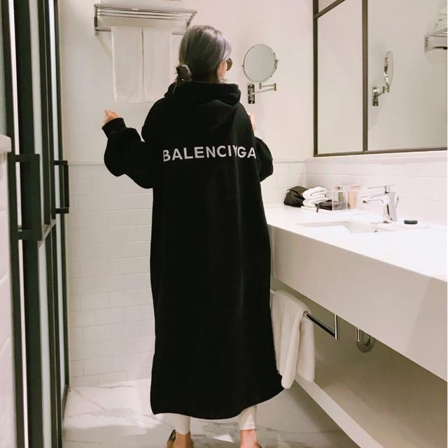 발렌시아가 양기모 원피스 여성용 - 상품이미지