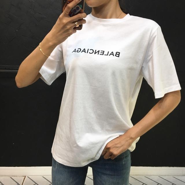 발렌시아가 기본 티셔츠 (2color) - 상품이미지