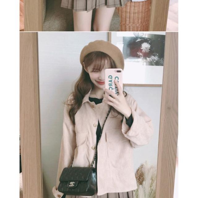 [FREE] 포근골덴벨벳자켓 CT ★기획특가(분홍 골덴자켓)-이번주 택포 - 상품이미지