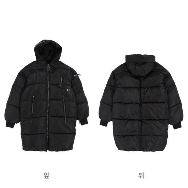 남자롱패딩95-105착샷있음(무료배송 - 상품이미지