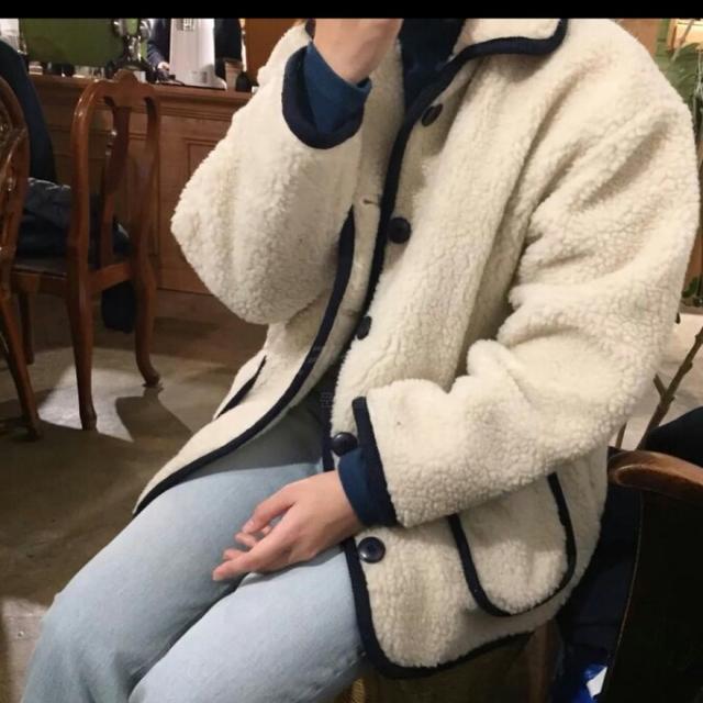 [FREE] 양털자켓 - 상품이미지