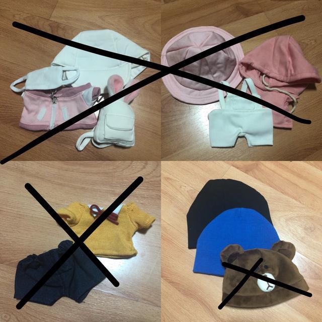 15cm,20cm 용 인형 옷 판매 (세븐틴 방탄 엑소 워너원) - 상품이미지