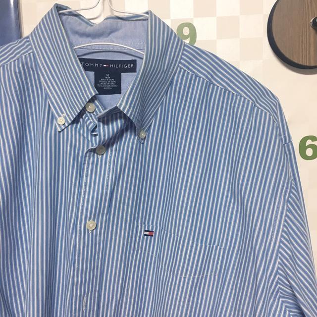 타미 스트라이프 셔츠(정품) - 상품이미지