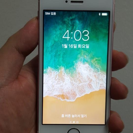 아이폰SE 64GB 로즈골드/모든통신사호환/중고폰 - 상품이미지