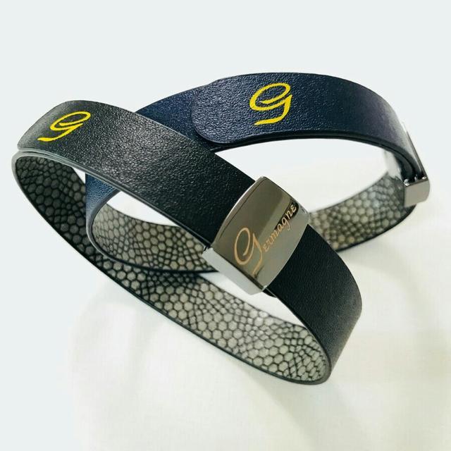 ☆히토류 네오디뮴 게르마늄 손목 밴드(미사용 새제품) - 상품이미지