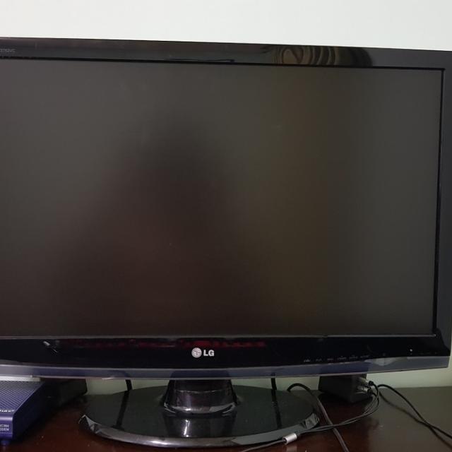 LG Full HD 27인치 모니터 팝니다! 가격내림. - 상품이미지