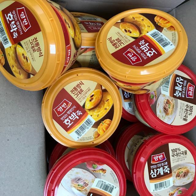 양반호박죽+삼계죽 일괄판매 - 상품이미지