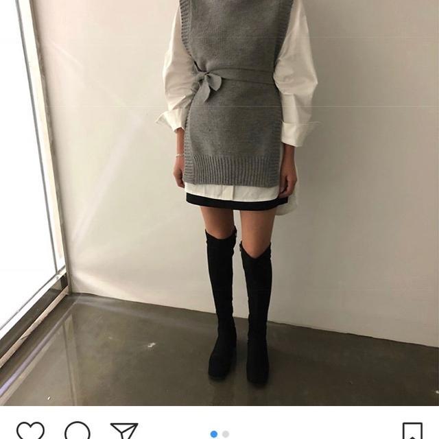 비플레인 니트 조끼+셔츠 9.4->6.5 - 상품이미지
