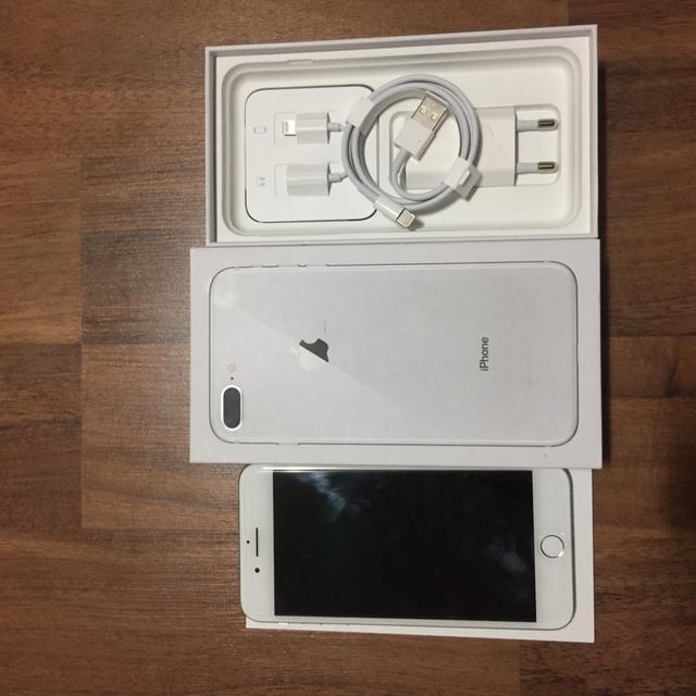 아이폰8+ 아이폰8플러스 방금리퍼받은 sss급 아이폰실버 - 상품이미지