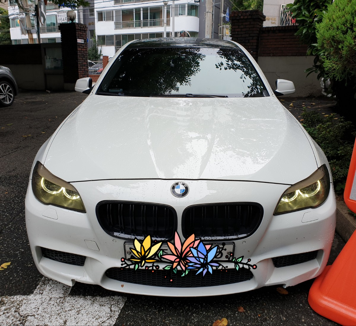 BMW 520D 흰색차량 판매합니다.(대차문의가능) - 0