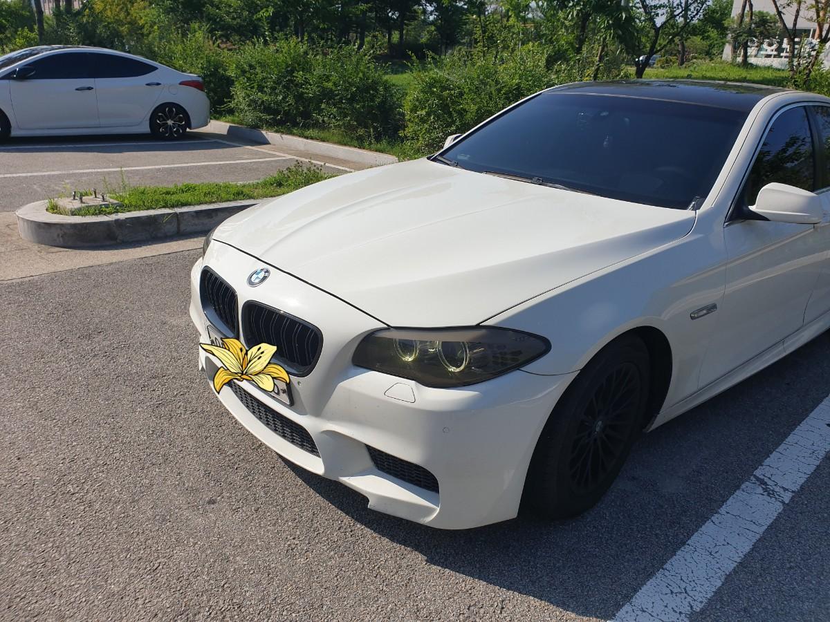 BMW 520D 흰색차량 판매합니다.(대차문의가능) - 2