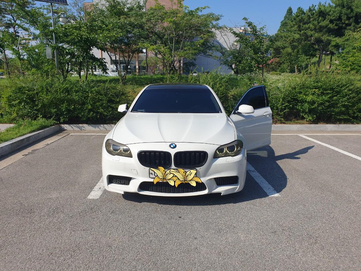 BMW 520D 흰색차량 판매합니다.(대차문의가능) - 3