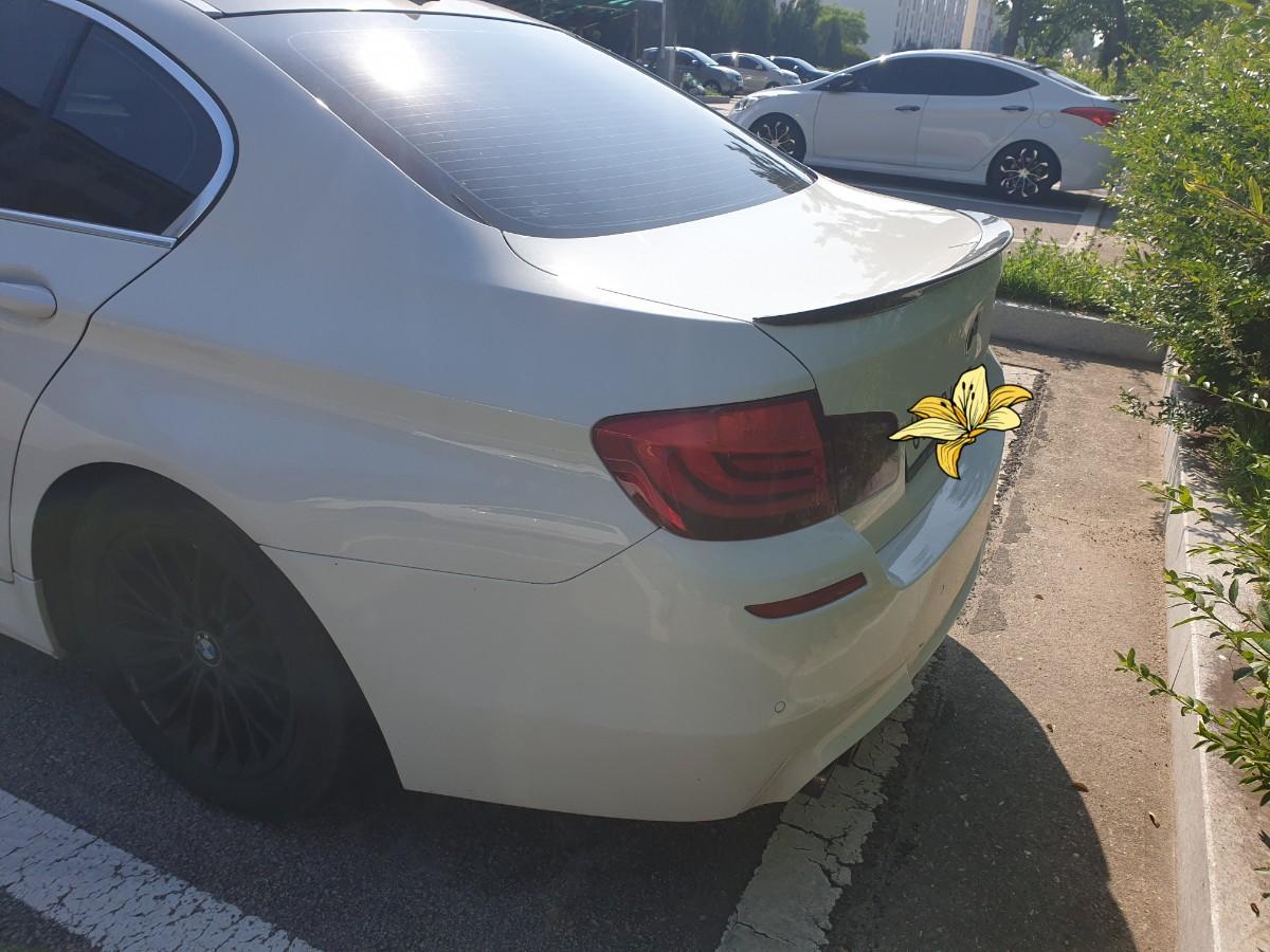 BMW 520D 흰색차량 판매합니다.(대차문의가능) - 4