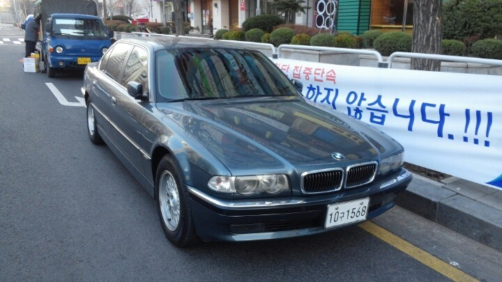 BMW  2001년식 735IL 쥐색 - 1