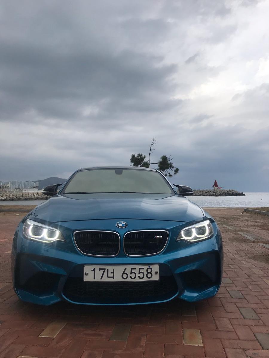 BMW M2쿠페퍼포먼스스티어링휠에디션/리스승계합니다 - 2