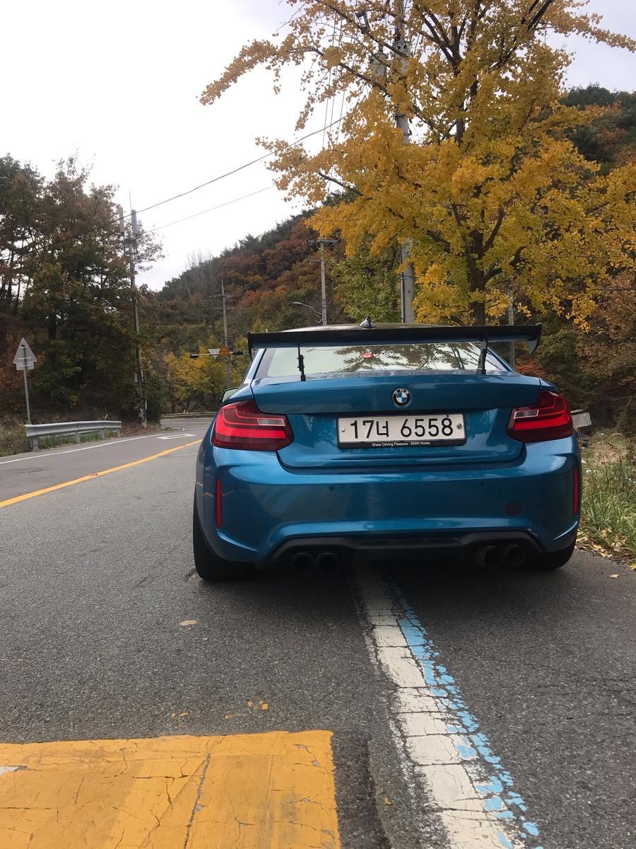BMW M2쿠페퍼포먼스스티어링휠에디션/리스승계합니다 - 3