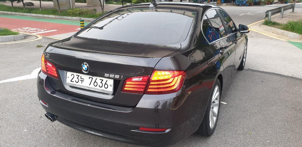 BMW 528i  2014년2월 무사고.직거래판매.아주좋음 - 1