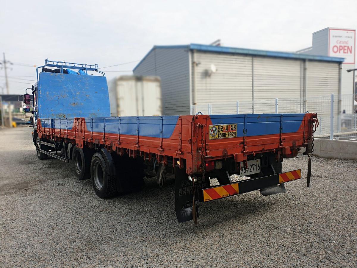 2011년05월(12년형) 프리마 4.5톤 앞축 카고/길이 7m50. - 4