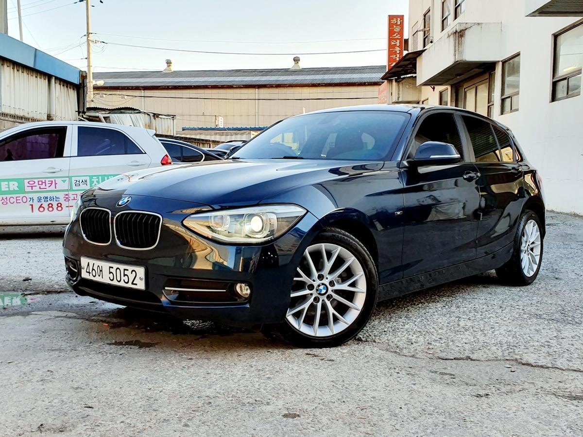 BMW 118d  스포츠 15년식 완전무사고 - 0