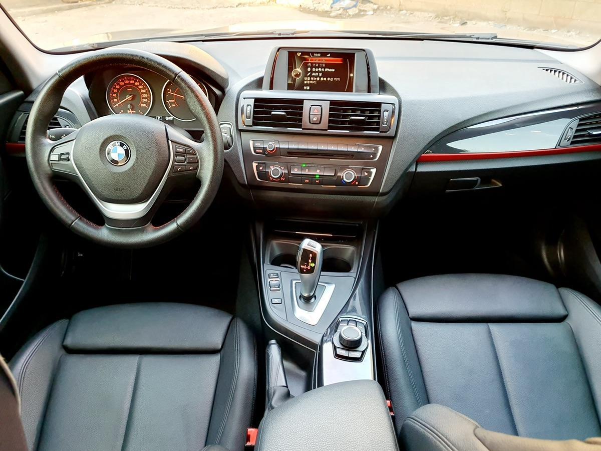 BMW 118d  스포츠 15년식 완전무사고 - 2