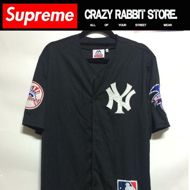 size 40 5779f c6b2f Supreme 15ss yankees jersey
