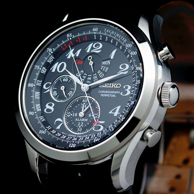 3128292826e [정품]세이코시계 남성 가죽시계 SPC133P1 크로노그래프 시계선물 - 상품이미지 ...