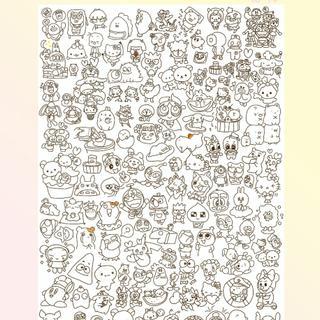 다운로드 캐릭터 색칠공부 색칠 공부 페이지 모음