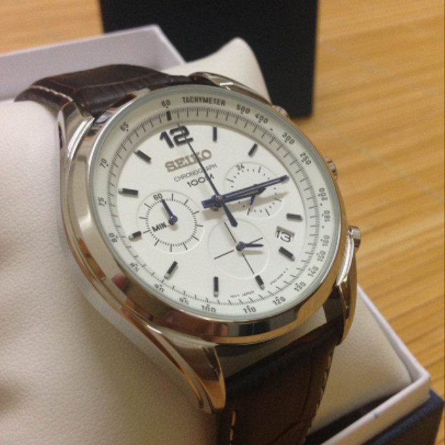 ac378817426 ... 상품; [정품]세이코시계 남성시계 가죽시계 크로노그래프 44mm 시계선물 ...