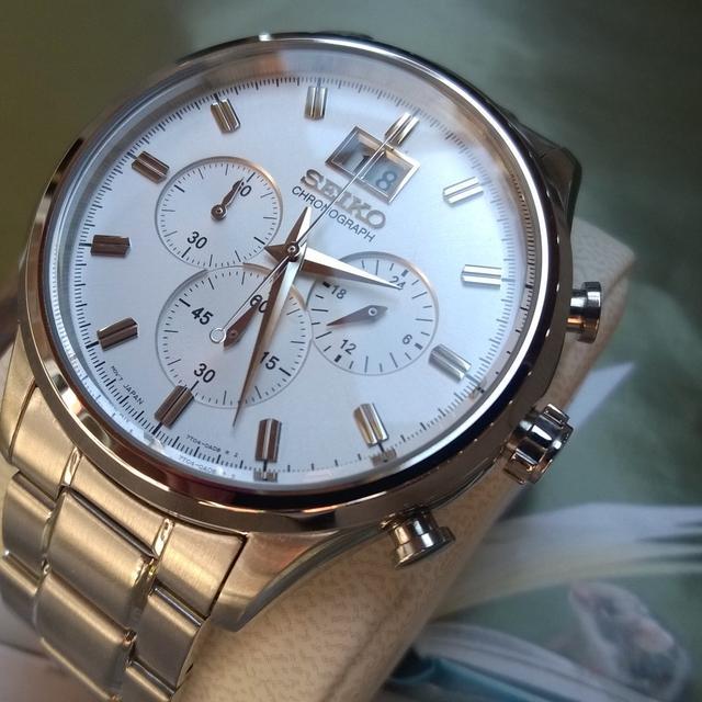 1449b25743b [정품]SEIKO 세이코시계 크로노그래프 남성 메탈시계 시계선물 - 상품이미지 ...