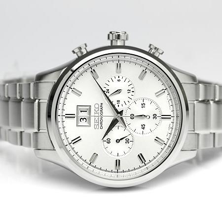 42c58b45fd6 ... 상품이미지; [정품]SEIKO 세이코시계 크로노그래프 남성 메탈시계 시계선물 ...