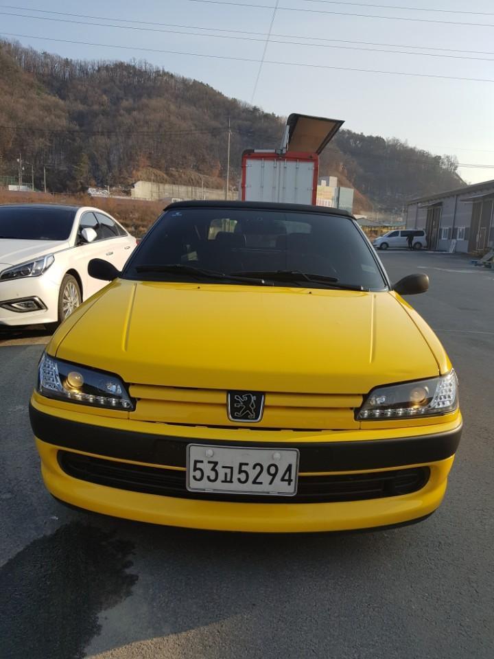 푸조306 카브리올레 개인소장차량 매매 - 0