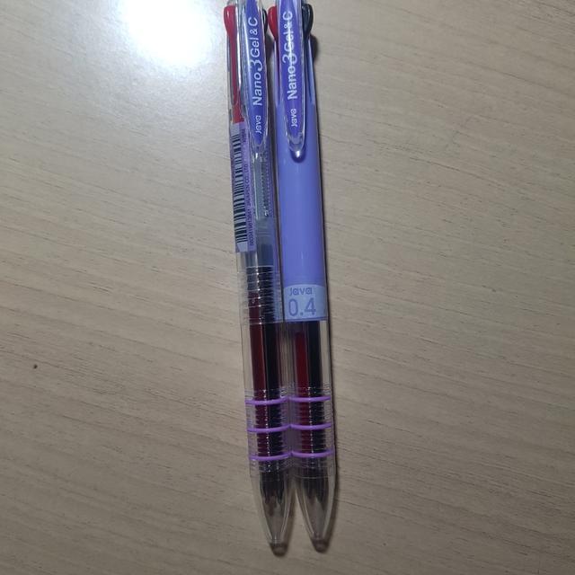0.3mm 0.4mm java nano 3 gel&c 자바 나노 3색볼펜 - 상품이미지 ...