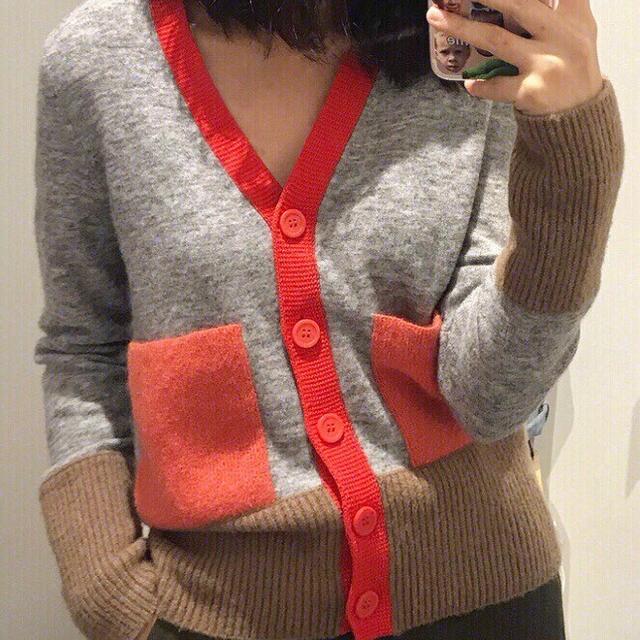 47370e81164 두툼울니트 55~88 명품여성의류 여자옷 가을겨울 연예인코디 브이넥 ...