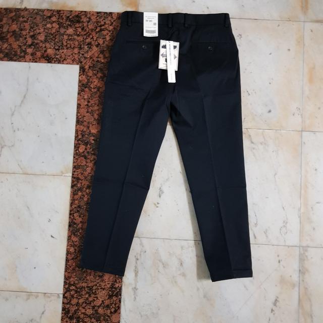 af5227b4ee0 ... 상품이미지; 지오다노 가을 겨울용 사이드밴드 펜슬핏 면바지 블랙 30사이즈 ...